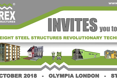 London Build 2018 invitation