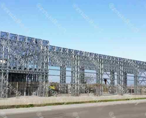 industrial building light steel structure