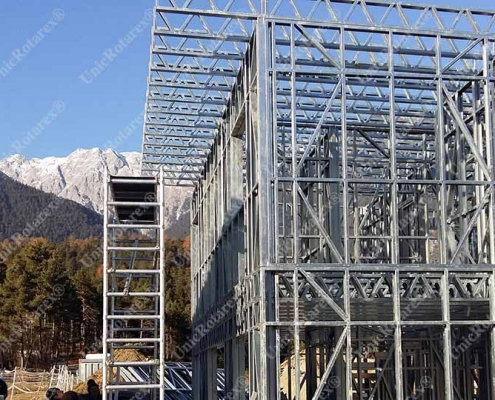 steel house in Austria