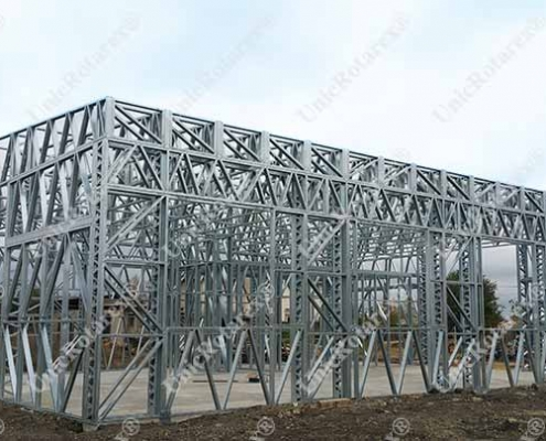steel structure for industrial building