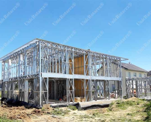 steel house structure