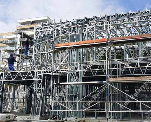steel structure for Norway house