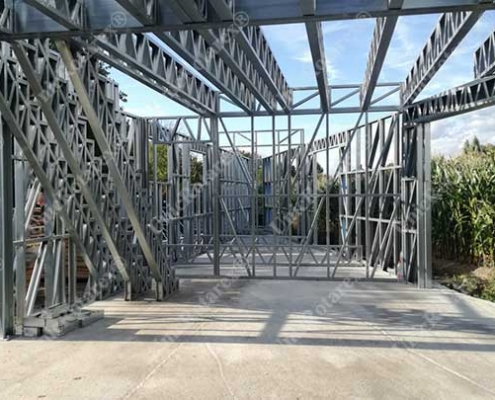 Steel structure for LGS house