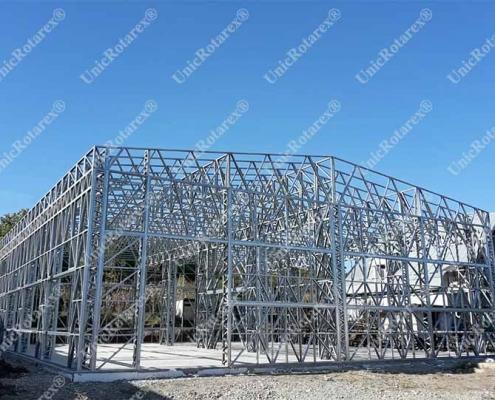 light steel structure industrial building