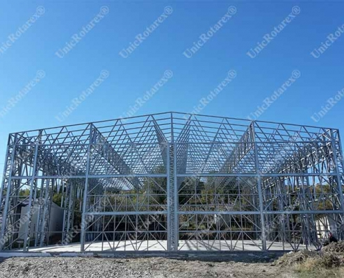 lightweight steel structure