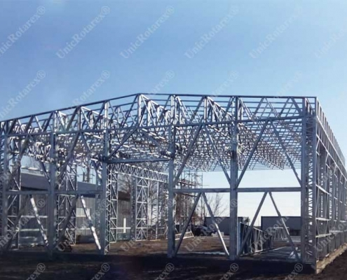 lightweight steel structure for industrial building