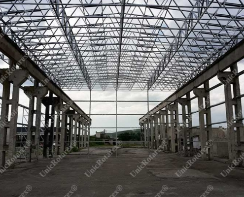 industrial building steel structure