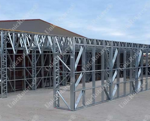 steel construction extension