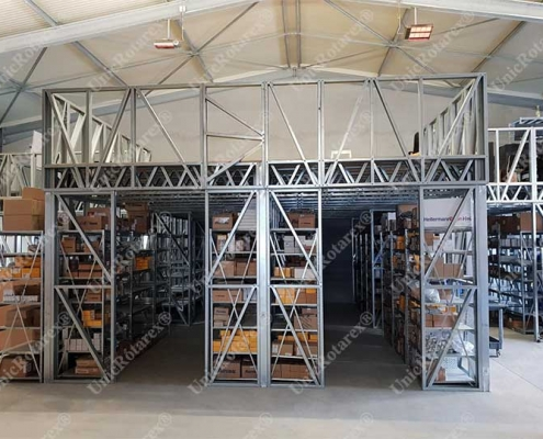 mezzanine steel structure in Switzerland