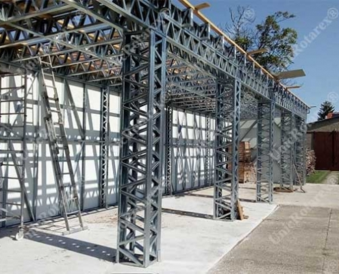 Steel structure carport