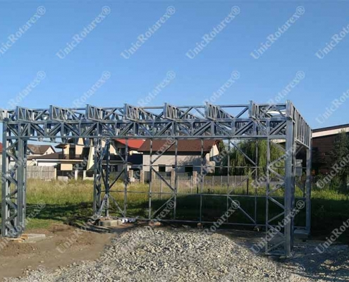 steel structure for carport