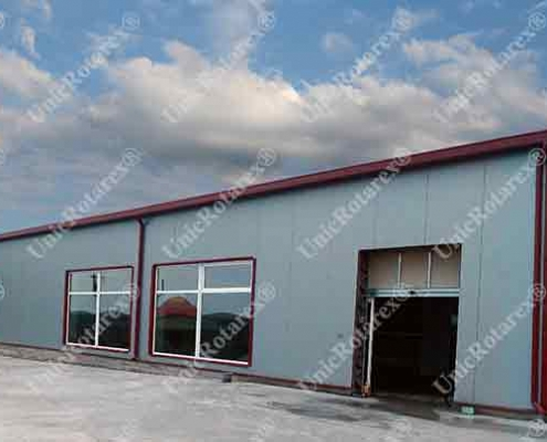 industrial building Oravita
