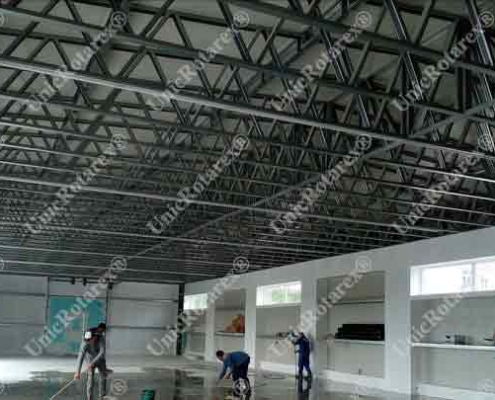 light steel structure for industrial building
