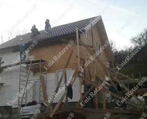 house with steel structure