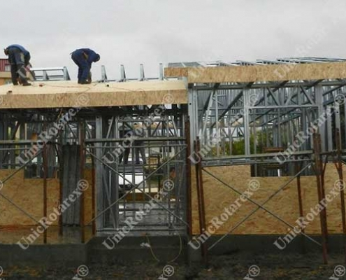 steel structure for small house