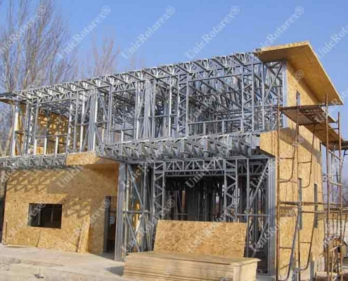steel structure for attic house