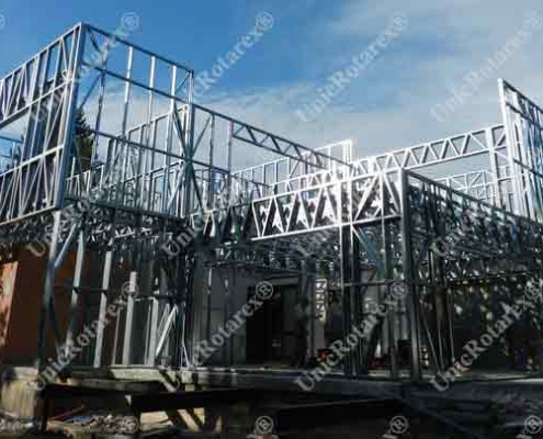 steel structure for one floor house