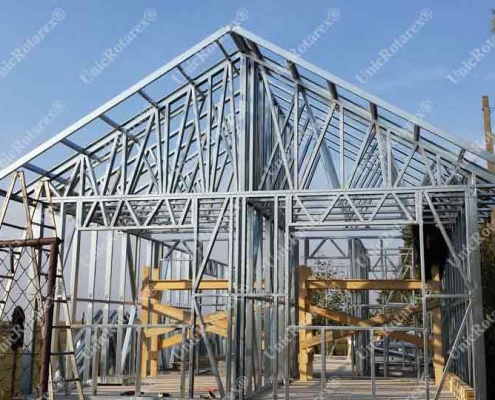 steel house Santandrei