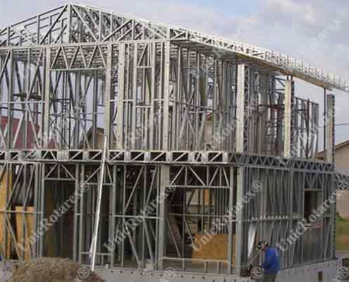 steel structure for house