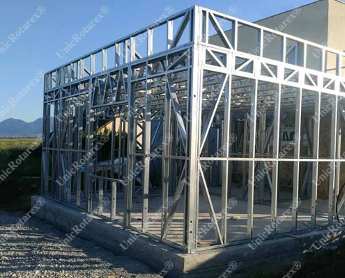steel structure extension