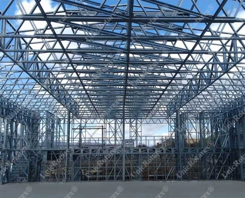 steel structure for production building