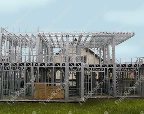 steel structure for veterinary clinic