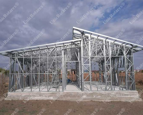Light steel structure for residential unit portfolio page 5