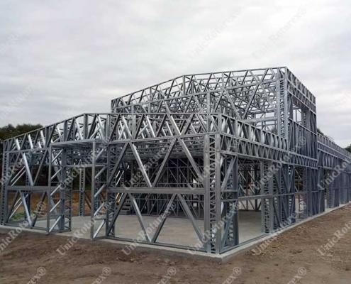 Steel hall