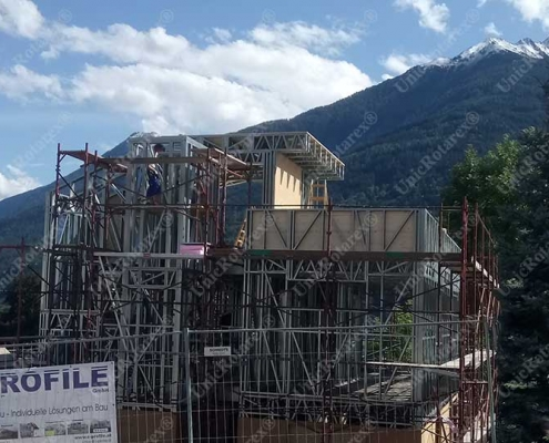 Steel structure for Tirol house