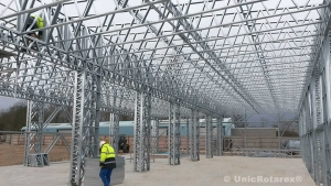 Three dimensional metal truss made by Unic Rotarex®