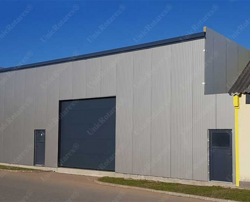 Industrial building with Unic Rotarex® light steel structure