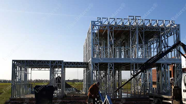 Steel structure for steel house