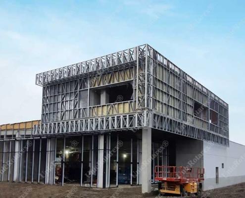Kaufland steel structure