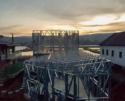 Steel house in Cluj