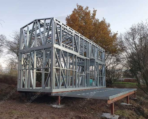 Steel structure for tiny house